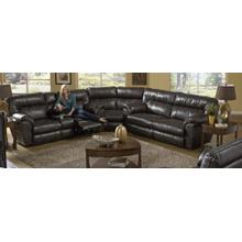 "3 PC Sectional w/ Power Sofa 139"" x 124"""
