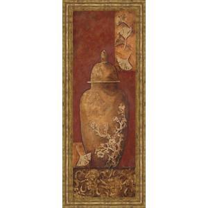 """Asian Nuvo I"" By Angela Ferrante Print in Framed Print Wall Art"