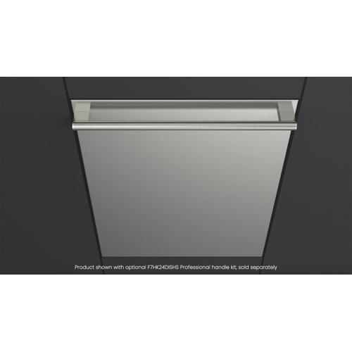 """Fulgor Milano - 24"""" Stainless Steel Built-in Dishwasher - Stainless Steel"""