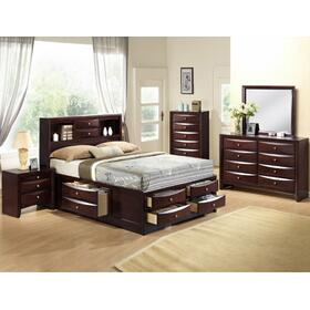 Queen Storage Bed Espresso