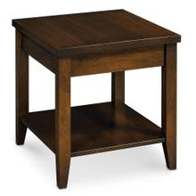 """View Product - Crawford End Table with Shelf, 16""""w x 26""""d x 24 """"h"""