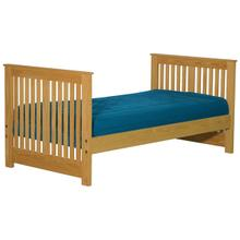 Twin Lower Bed, tall, extra-long