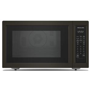 "KitchenAid21 3/4"" Countertop Convection Microwave Oven with PrintShield™ Finish - 1000 Watt - Black Stainless Steel with PrintShield™ Finish"