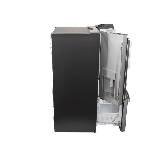 GE Profile™ Series ENERGY STAR® 27.7 Cu. Ft. Fingerprint Resistant French-Door Refrigerator with Hands-Free AutoFill
