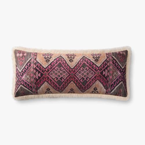 P0796 Multi / Ivory Pillow