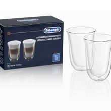 See Details - Latte Macchiato Cups, Double Wall Thermal Glasses, 7.5 oz, Set of 2 - DLSC312