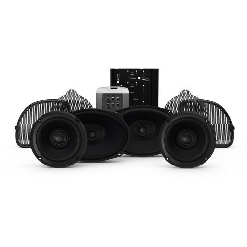 Rockford Fosgate - 2014+ Harley-Davidson® Road Glide® CVO & Street Glide® CVO 4 Speaker & Amp Kit