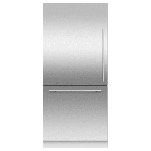 """Fisher & Paykel - Integrated Refrigerator Freezer, 36"""", Ice"""