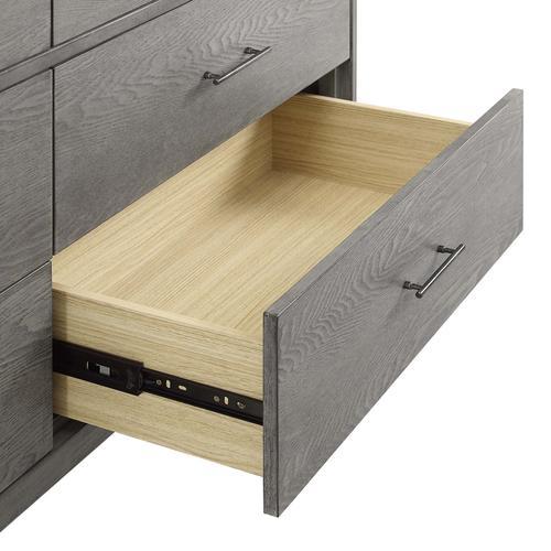 Georgia Wood Dresser in Gray
