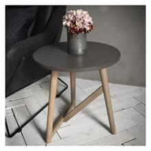 GA Hamar Round Side Table Grey