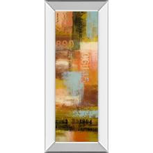 """""""Departures I"""" By Michael Marcon Mirror Framed Print Wall Art"""