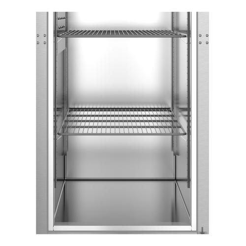 Hoshizaki - F1A-FSL, Freezer, Single Section Upright, Full Stainless Door with Lock