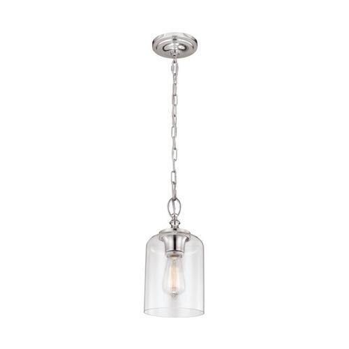 Hounslow Clear Glass Mini Pendant Oil Rubbed Bronze