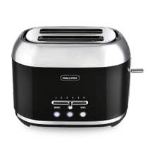 Kalorik 2-Slice Retro Toaster, Black