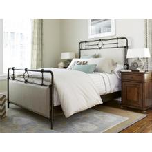 Upholstered Metal Bed (Queen)