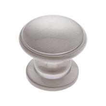 Satin Nickel 32 mm Round Knob