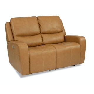 See Details - Aiden Power Reclining Loveseat with Power Headrests