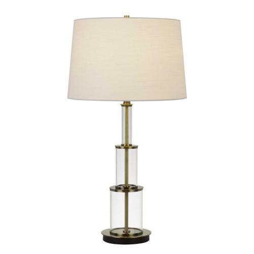 Brest 150W 3 Way Glass Table Lamp