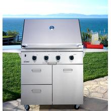 """See Details - 52"""" and 36"""" Outdoor Grill Carts"""