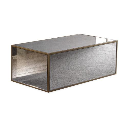 Lana Mirrored Coffee Table by Inspire Me! Home Decor