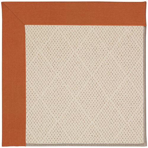 Creative Concepts-White Wicker Canvas Rust