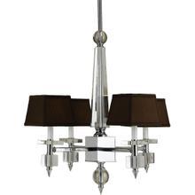 See Details - AF Lighting 6686 4-Light Crystal Chandelier, 6686-4H
