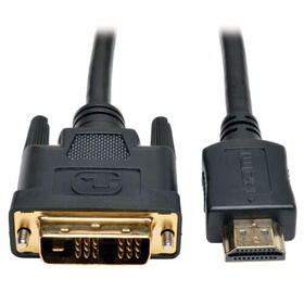 HDMI to DVI Cable, Digital Monitor Adapter Video Converter Cable (HDMI to DVI-D M/M), 6 ft.