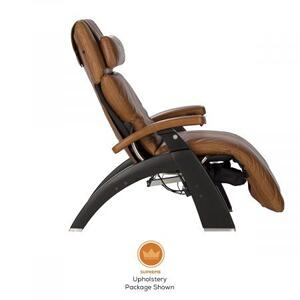 Perfect Chair ® PC-600 Silhouette - Walnut - Black Premium Leather