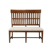 Wolf Creek Slat Back Dining Bench