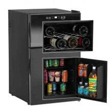 Model SWBC250D - Combination Dual Zone Wine Cooler / Beverage Center