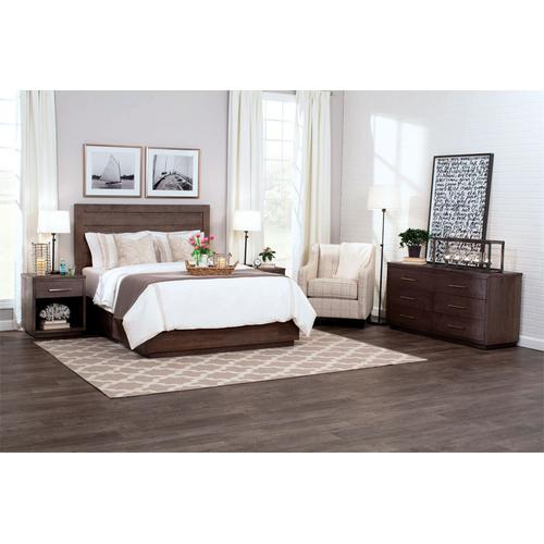 Ironwood Planked Bed, Ironwood Planked Bed, Queen