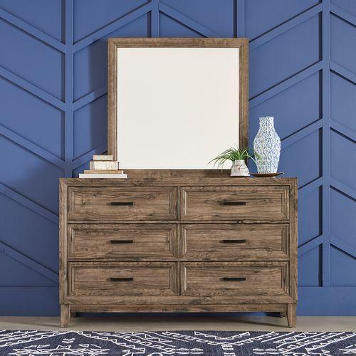 Gallery - King Storage Bed, Dresser & Mirror, Chest
