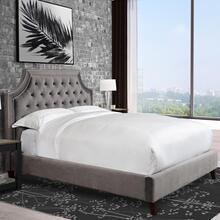 JASMINE - FLANNEL Jasmine Flannel (Grey) King Bed 6/6
