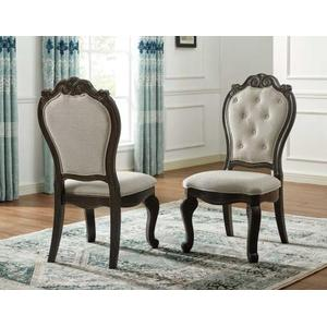 Rhapsody 9 Piece Set(Table, 2 Arm Chairs & 6 Side Chairs)