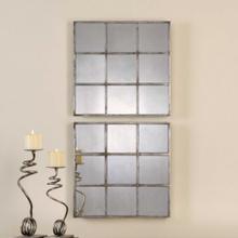 Derowen Square Mirrors, S/2