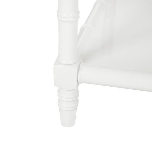 Safavieh - Noam Modern Coastal Bamboo Coffee Table - White