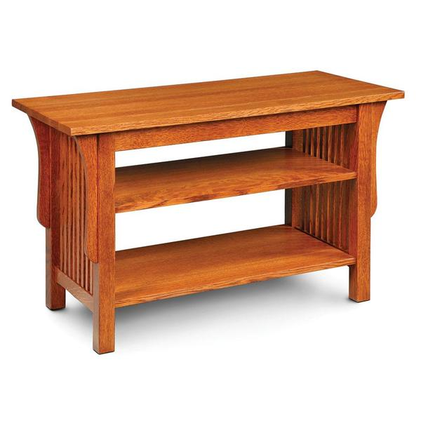 """See Details - Prairie Mission Widescreen Open TV Stand, 40""""w x 18""""d x 25""""h"""
