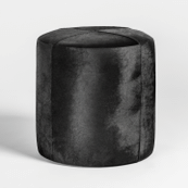 St Francis Small Leather Ottoman