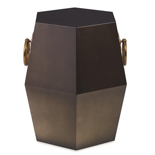 Hexagonal Accent Table - Sable