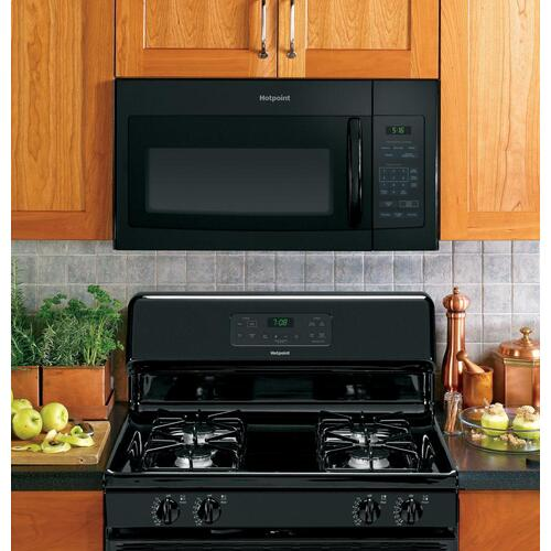 Hotpoint - Hotpoint® 1.6 Cu. Ft. Over-the-Range Microwave Oven