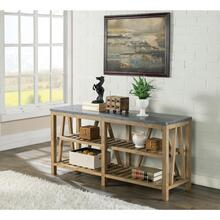Weatherford - Sofa Table (Top & Base) - Bluestone Finish