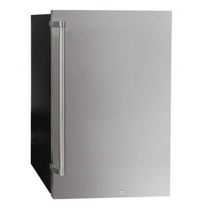 See Details - 4.4 Cu Ft Freestanding SS Outdoor Refrigerator