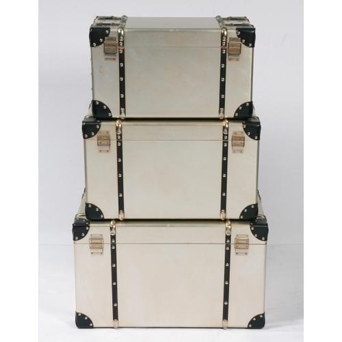 Emerald Home Ac213-rect-3pcset Treviso Accent Table Set, Champagne