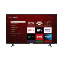 "TCL 65"" Class 4-Series 4K UHD HDR LED Smart Roku TV - 65S435"