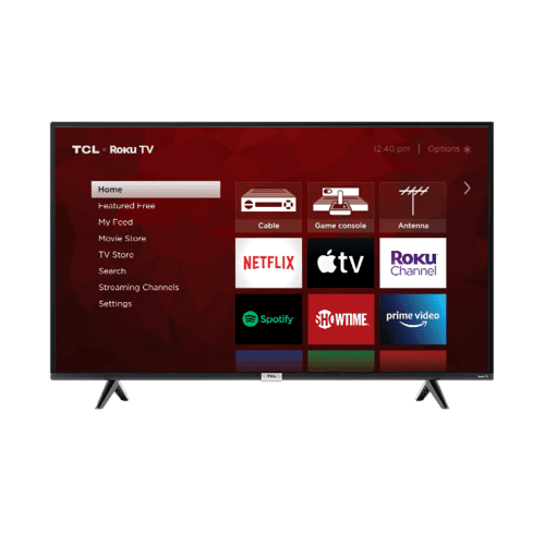 "TCL 43"" Class 4-Series 4K UHD HDR LED Smart Roku TV - 43S435"