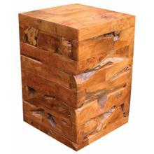 TF-0632 Cube Kodiak Side Table/Stool