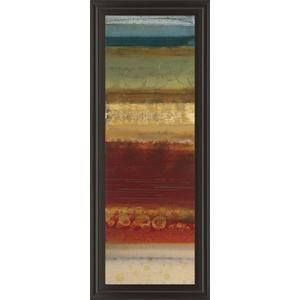 """Serrate Il"" By Selina Werbelow Framed Print Wall Art"