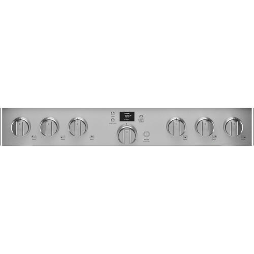 """Cafe Canada - Café 36"""" Smart Dual-Fuel Commercial-Style Range Stainless Steel"""