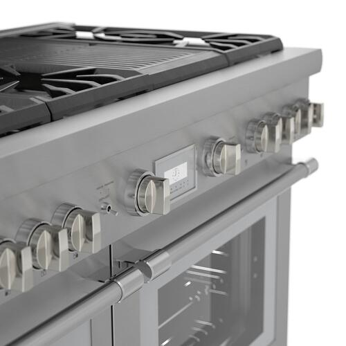 Thermador - Gas Professional Range 48'' PRG486WLH