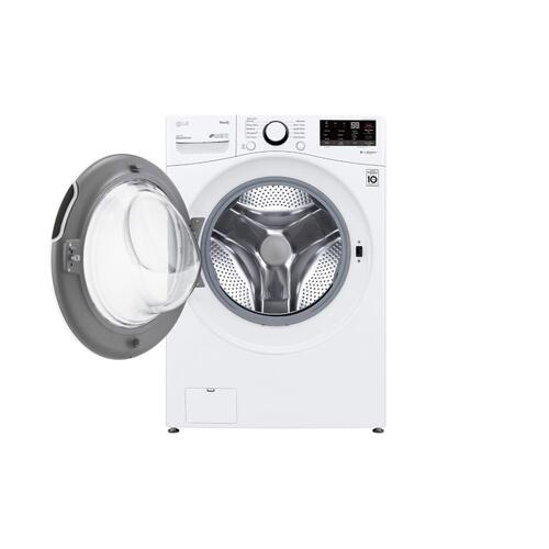 4.5 cu. ft. Ultra Large Capacity Smart wi-fi Enabled Front Load Washer with Built-In Intelligence & Steam Technology